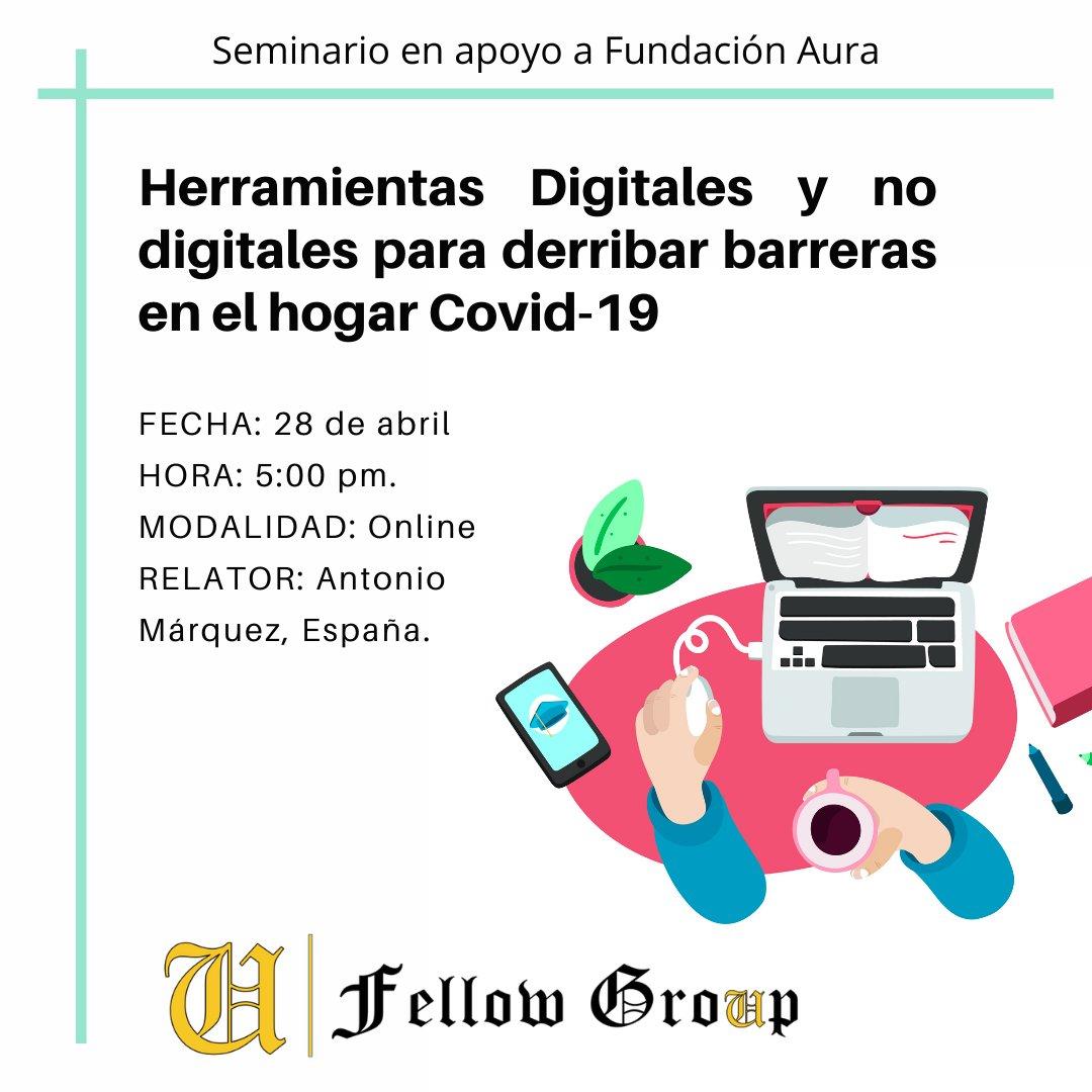 Course Image Seminario: Herramientas Digitales y No Digitales para derribar barreras en el Hogar
