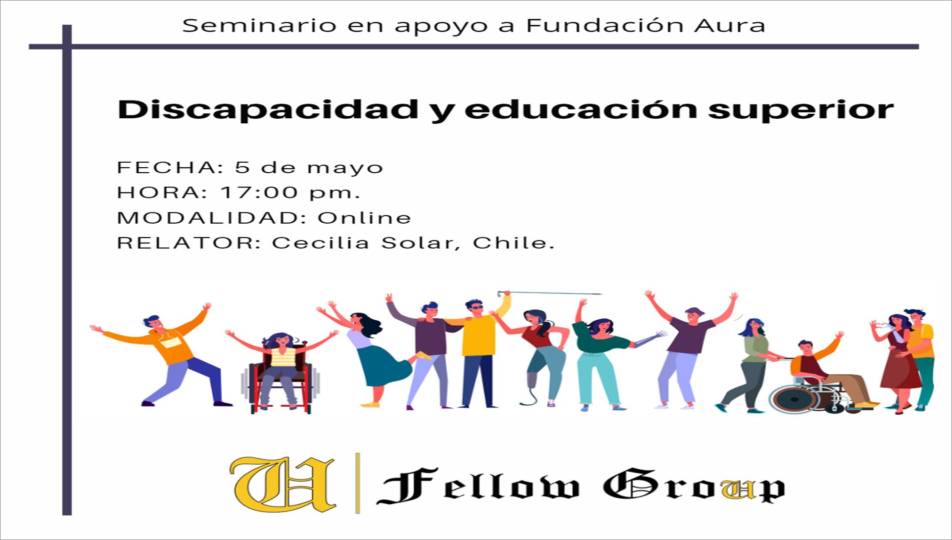 Course Image Seminario: Discapacidad y educación superior