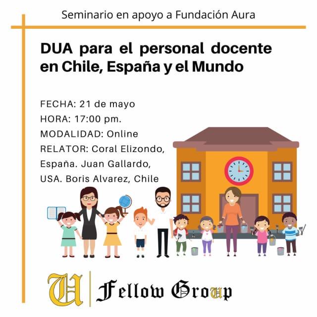 Course Image Seminario: DUA para el personal docente en Chile, España y el mundo