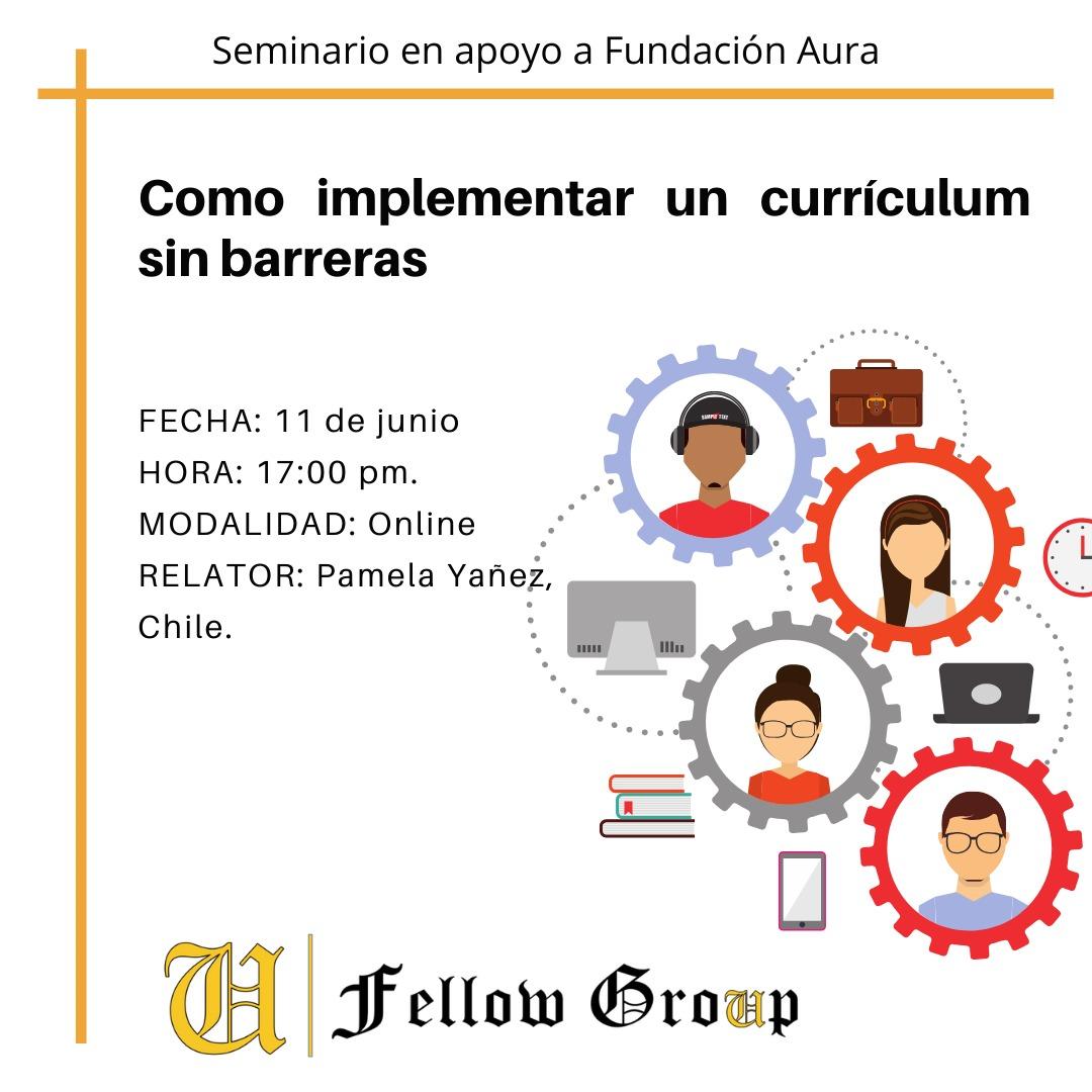 Course Image Seminario: Como implementar un currículum sin barreras